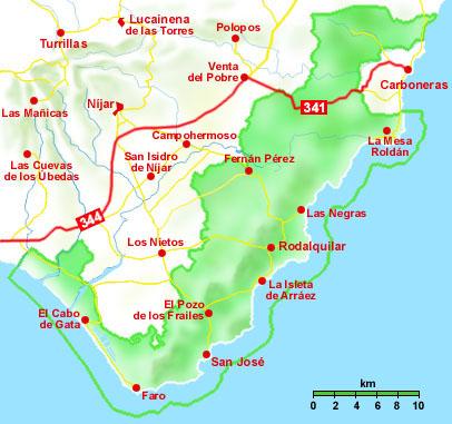 Cabo De Gata Níjar Rutas De Senderismo