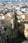 Iglesia de Santiago desde la Torre de la Catedral